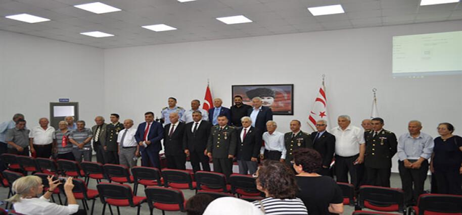Akdoğan'da milli mücadele madalyası takdimi yapıldı