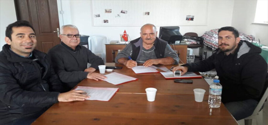 Akıncılar Belediyesi'nde toplu iş sözleşmesi imzalandı