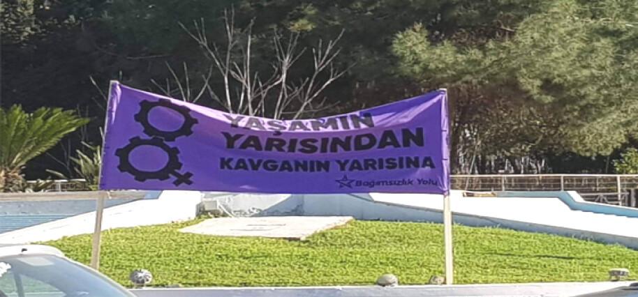 Bağımsızlık Yolu'ndan 'Kadına Yönelik Yönelik Şiddete Karşı Mücadele Günü' için birlik çağrısı