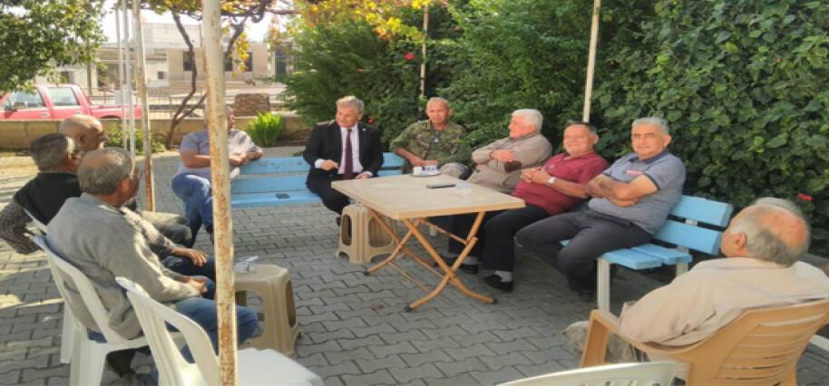 Bakan Pilli, Aydınköy'ü ziyaret etti