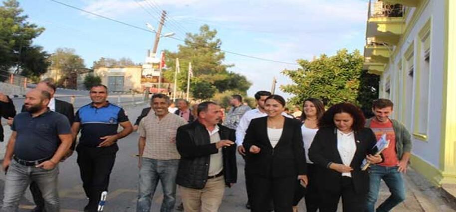 Baybars, Karpaz bölgesini ziyaret etti