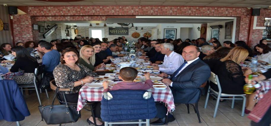 Değirmenlik Belediye Başkanı Karavezirler, bölge öğretmenleriyle bir araya geldi