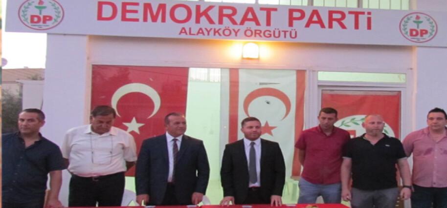 DP'liler dün akşam Alayköy halkı ile biraraya geldi…