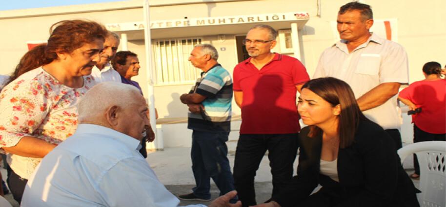 İçişleri Bakanı Baybars, Avtepe köyünde halkla bir araya geldi