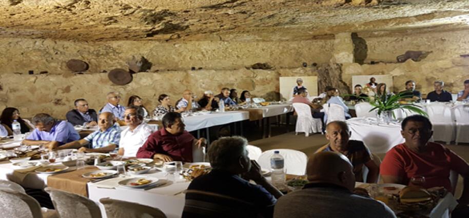 """""""Kıbrıs Kültürünü Yaşayalım ve Yaşatalım"""" projesinin final yemeği yapıldı"""