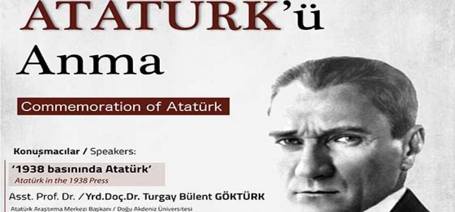 LAÜ'de Atatürk anılacak