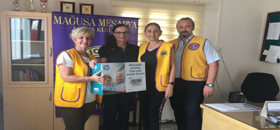 Mağusa Mesarya Lions Kulübü'nden Ulukışla İlkokulu'na bağış