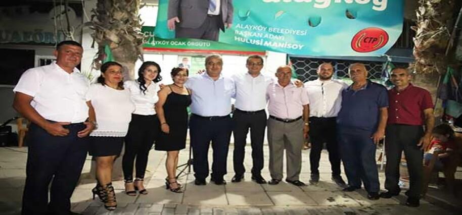 Manisoy CTP Alayköy Ocak Örgütü'nde proje tanıtım etkinliği düzenledi