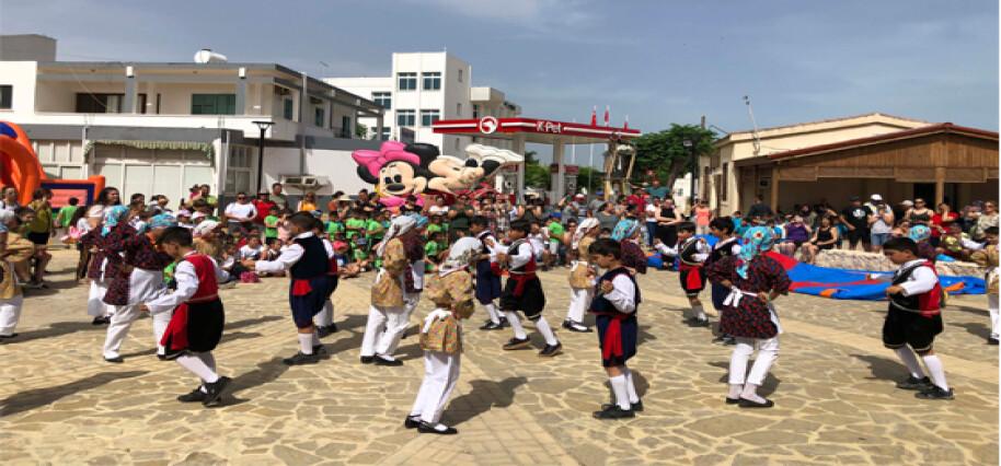 Mehmetçik Belediyesi Dünya Çocuk Günü Şenliği düzenledi