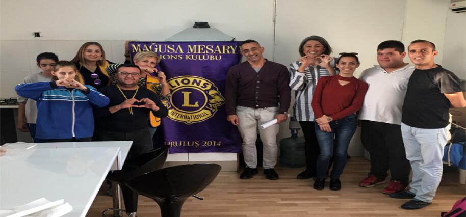 Mağusa Mesarya Lions Kulübü'nden anlamlı etkinlik