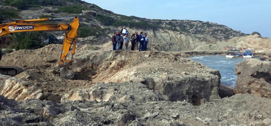 """Oğuz: """"43 yıldır dokunulmayan Kayalar Balıkçı Barınağı'nda tadilata başlandı"""""""