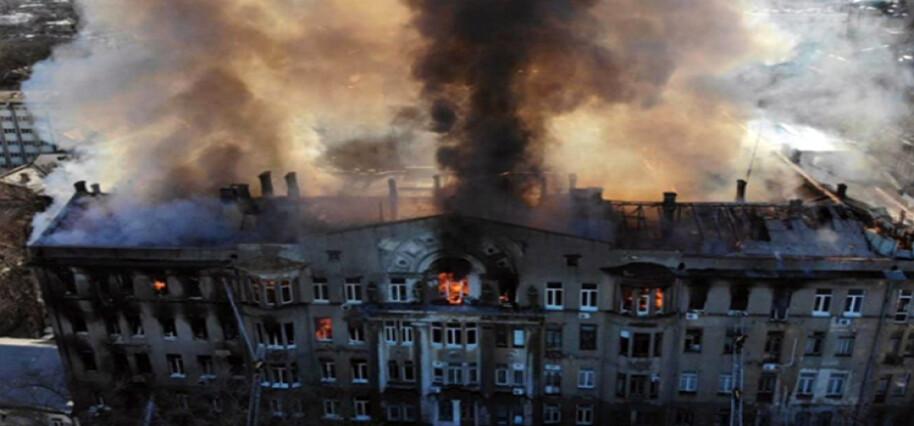 Ukrayna'daki okulda çıkan yangında ölenlerin sayısı 16'ya yükseldi