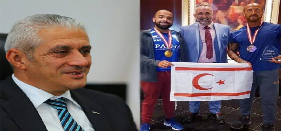 Taçoy'dan ABD'den ödülle dönen Özekmekçi ve Sarıtaş'a tebrik mesajı