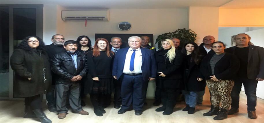 TKP-YG Lefkoşa İlçe Başkanlığına Ayşe Buran seçildi