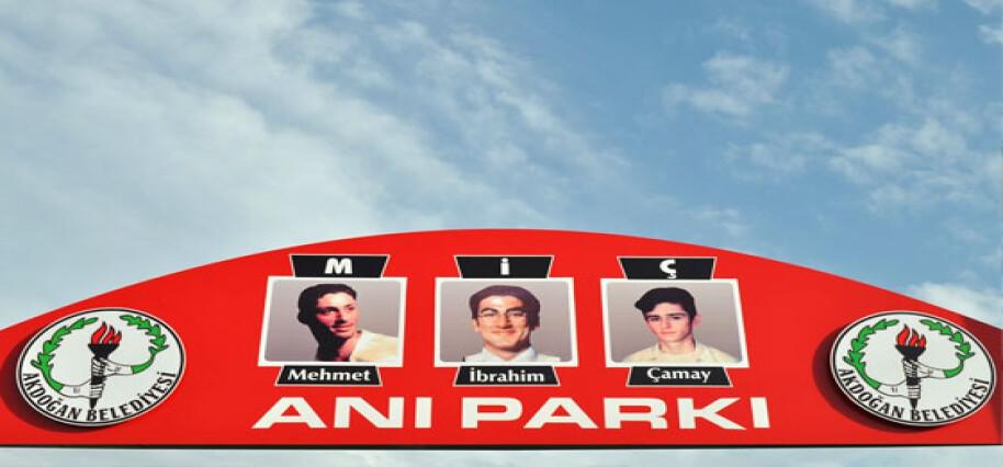 Trafik kazasında hayatını kaybeden üç gencin isimleri Akdoğan'da parkta yaşatılacak
