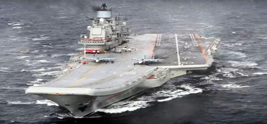 Rus uçak gemisinde yangın çıktı