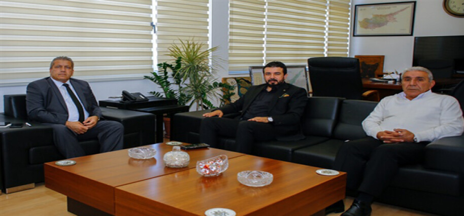 YDP Milletvekili Zaroğlu, Gazimağusa Belediye Başkanı Arter'i ziyaret etti