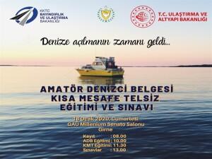 Amatör denizcilik eğitim ve sınavlarının üçüncüsü 18 Ocak'ta