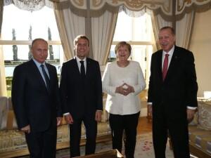 Dörtlü Suriye Zirvesi sona erdi