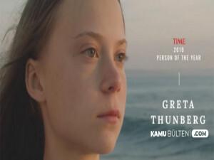 Tıme dergisi 16 yaşındaki çevre aktivisti Greta Thunberg'i yılın kişisi seçti