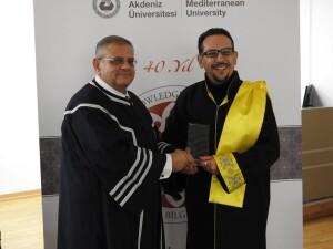DAÜ'den Yayın Başarı Plaket Ödülü ve Araştırmacı Teşvik Ödülü Ödül Töreni