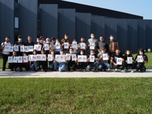 """UKÜ'lü Öğrenciler: """"Maskemi Takarım Farkındalık Yaratırım"""""""