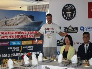 Kıbrıslı Türk Karabetça'dan yeni dünya rekoru denemesi