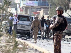 Afganistan'da ABD hava üssü yakınında saldırı: 50 kişi yaralandı