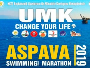 Aspava Uluslararası Yüzme Maratonu 2019 yapıldı