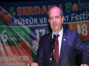 Başbakan Tatar Serdarlı Babutsa Kültür ve Sanat Festivali'ne katıldı...