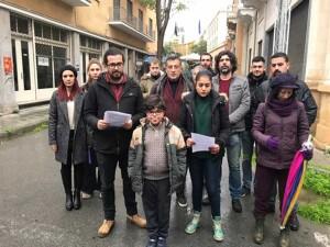Bağımsızlık yolu Rum Yönetimi'ni protesto etti