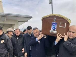TC Lefkoşa Büyükelçisi Başçeri'nin babası son yolculuğa uğurlandı