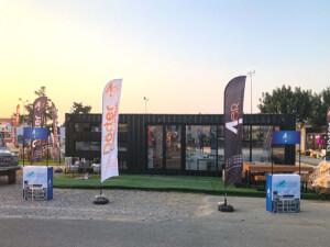 Dörter Construction geleneği bozmadı, Pulya Festivali'nde yerini aldı