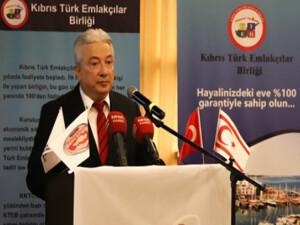 """Emlakçılar Birliği Başkanı: """"Emlakçılar Birliği Yasası'nın geçmesi şart"""""""