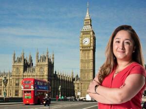 İngiltere Parlamentosu'nda Türkçe konuşan ilk kadın vekil: Feryal Demirci - Clark