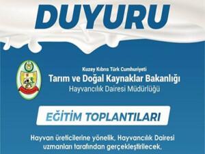 Hayvancılık Dairesi, yarın Beyarmudu'nda üreticileri bilgilendirecek