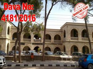 Girne Kaza Mahkemesi - Celpname - Dava No: 4181/2016