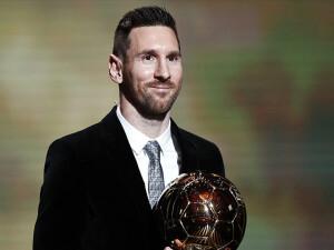 'Altın Top' Messi'nin