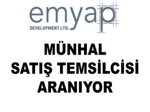MÜNHAL – Emyap Development LTD satış temsilcisi arıyor
