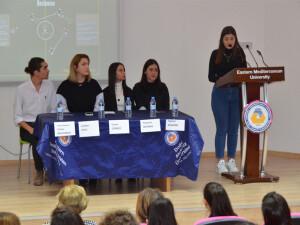 DAÜ Sağlık Bilimleri Fakültesi'nde 'Öğrenci Paneli' yapıldı