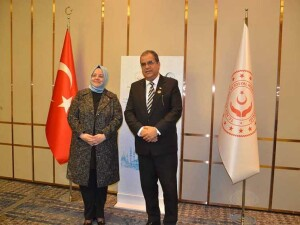 Çalışma ve Sosyal Güvenlik Bakanı Faiz Sucuoğlu, mevkidaşı TC Aile, Çalışma ve Sosyal Hizmetler Bakanı Zehra Zümrüt Selçuk ile görüştü