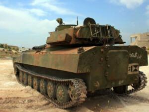 Ara bölgedeki RMMO tankı müzeye konmak için bakıma alındı
