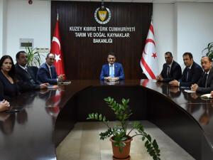 """Tarım ve Doğal Kaynaklar Bakanlığı: """"Yer altı barajı için teknik heyet geldi"""""""