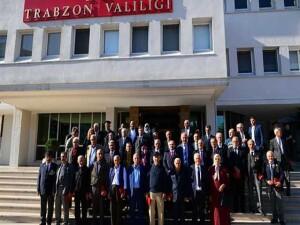 Trabzon'da Kıbrıs gazilerine madalya ve berat takdim edildi