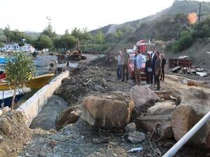 Yedidalga Limanı'ndaki çalışmalarda sona geliniyor