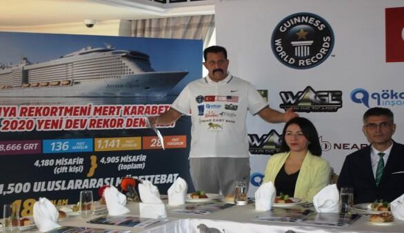 Karabetça'dan yeni dünya rekoru denemesi