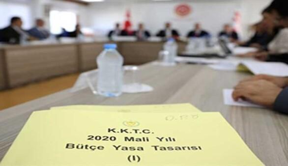 2020 Mali Yılı Bütçe Yasa Tasarısı görüşmeleri Meclis Genel Kurulu'nda yarın başlıyor