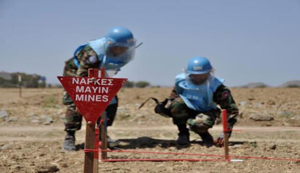 BM 18 bölgede mayın kontrolü yaptı