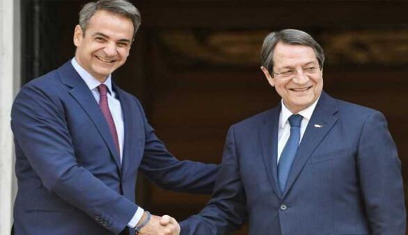 Mitsotakis, Anastasiadis'i Erdoğan ile görüşmesi hakkında bilgilendirdi