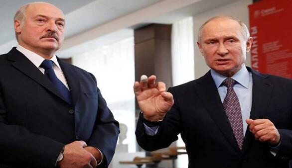 Putin-Lukaşenko görüşmesinde elektrik kesildi